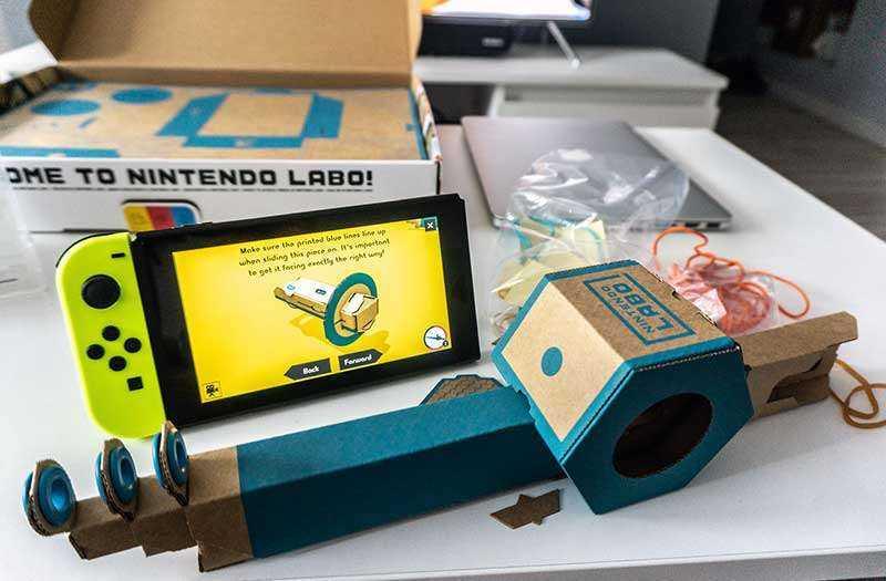 Удочка Nintendo LABO