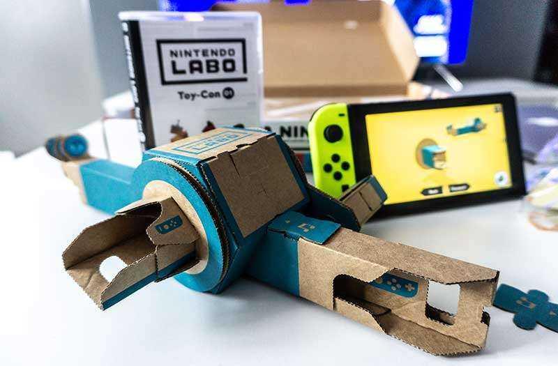 Творчество с Nintendo LABO