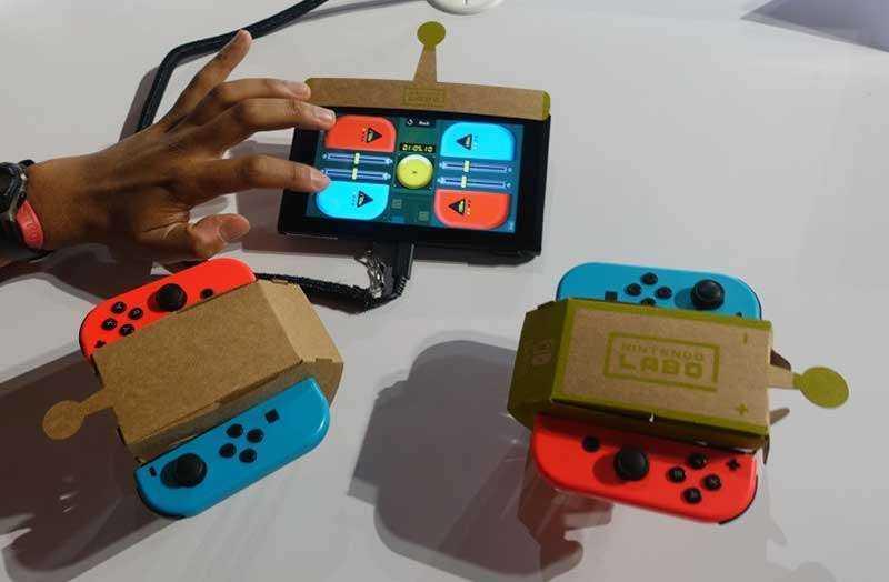 Машинка Nintendo LABO