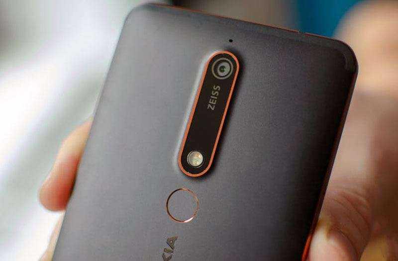 Дизайн Nokia 6.1