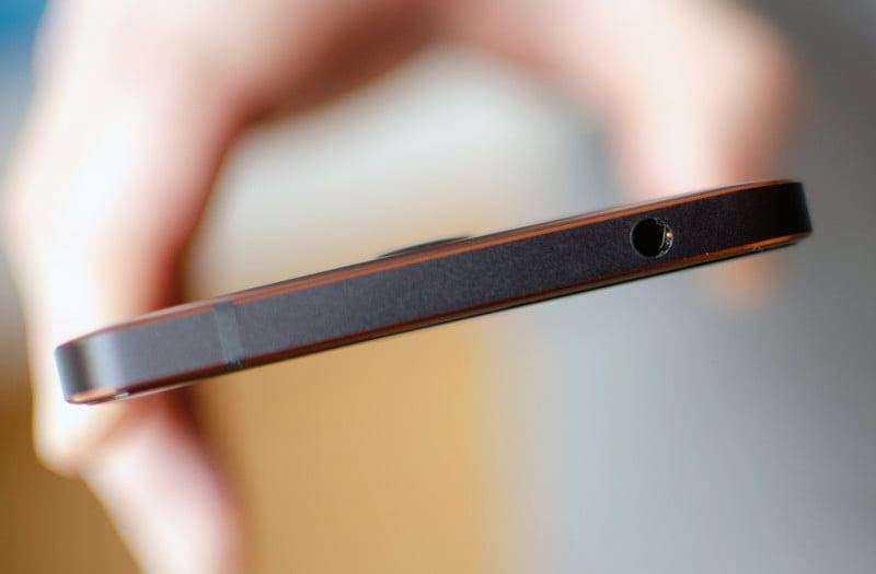 Nokia 6.1 сверху