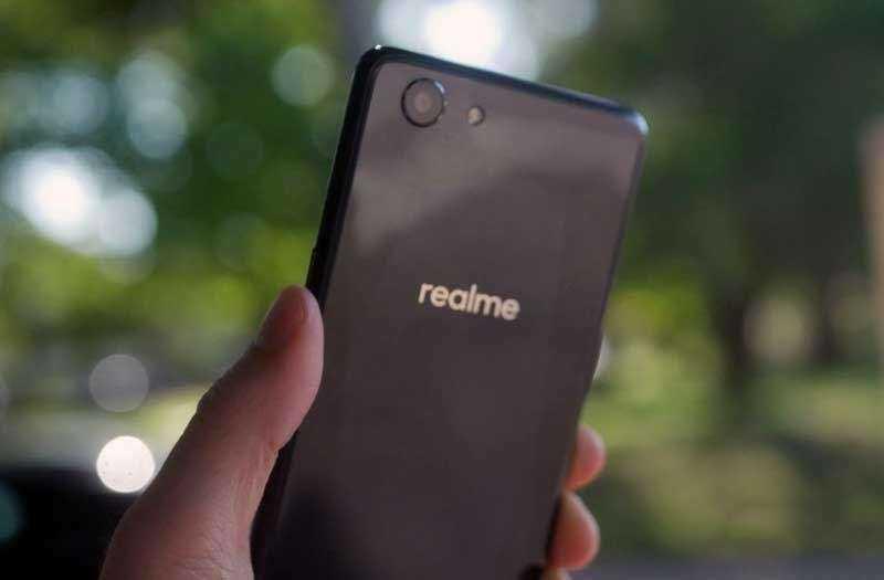 Камеры Oppo Realme 1