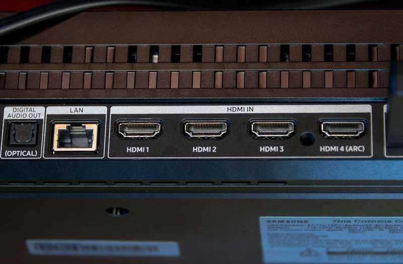 Порты Samsung Q9FN