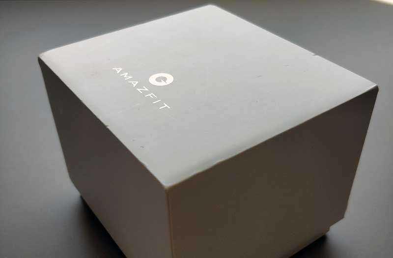 Xiaomi Amazfit BIP из коробки
