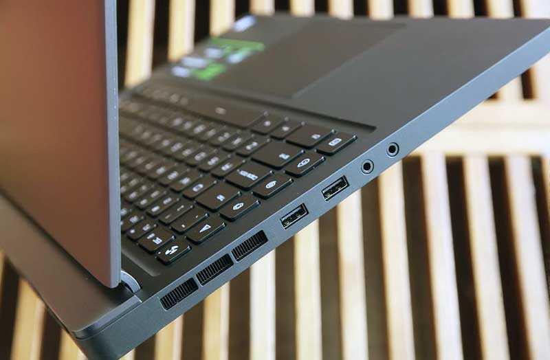 Порты Xiaomi Mi Gaming Laptop