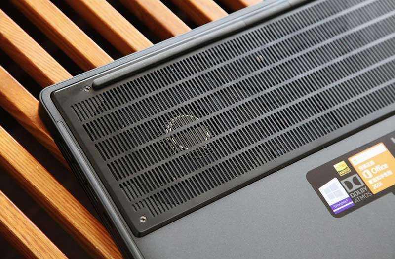 Охлаждение Xiaomi Mi Gaming Laptop