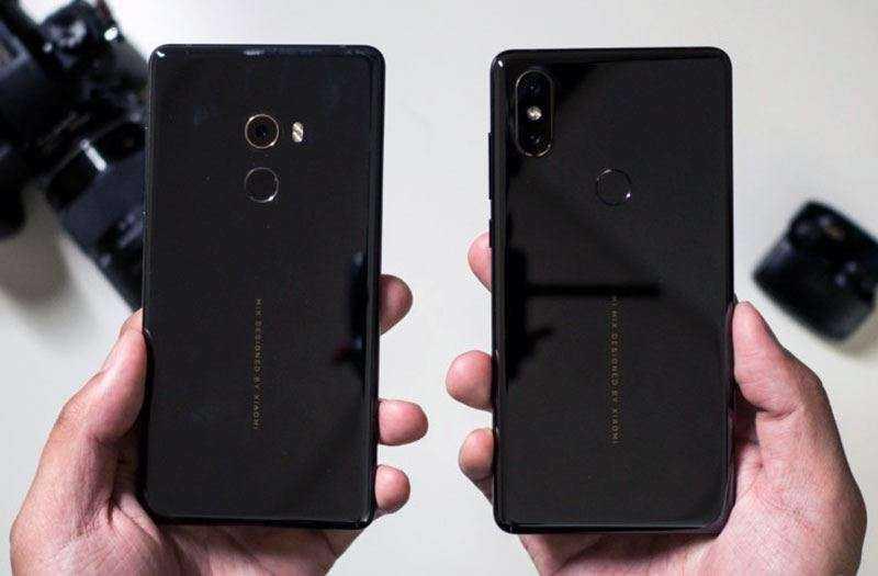 Xiaomi Mix 2s дизан