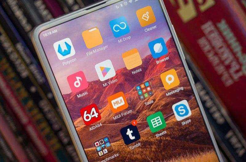 Экран Xiaomi Mix 2s