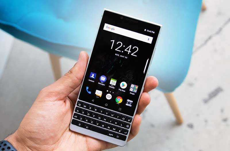 Экран BlackBerry Key2