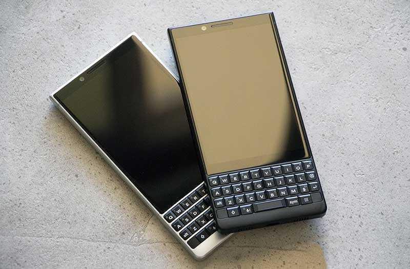BlackBerry Key2 внешний вид