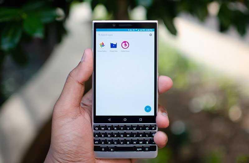 Дизайн BlackBerry Key2