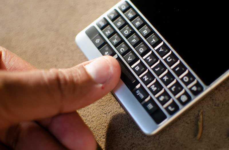 Клавиатура BlackBerry Key2