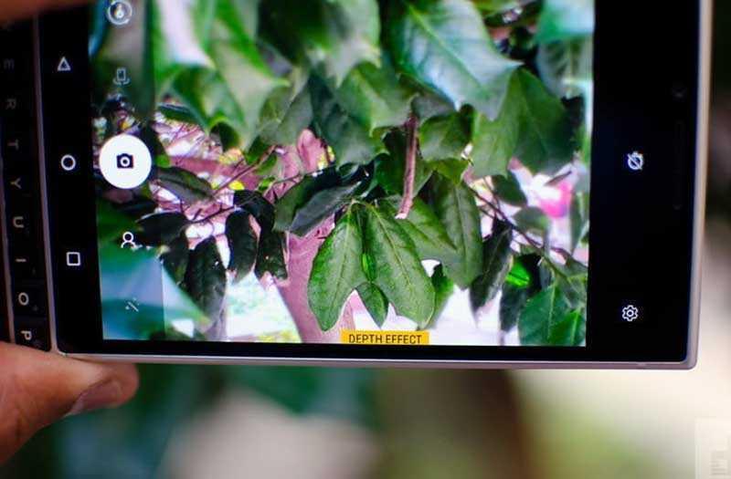 Камера BlackBerry Key2