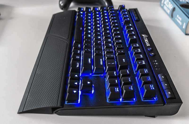 Тест Corsair K63 Wireless