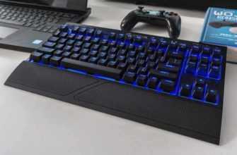 Обзор Corsair K63 Wireless: механическая клавиатура без кабелей