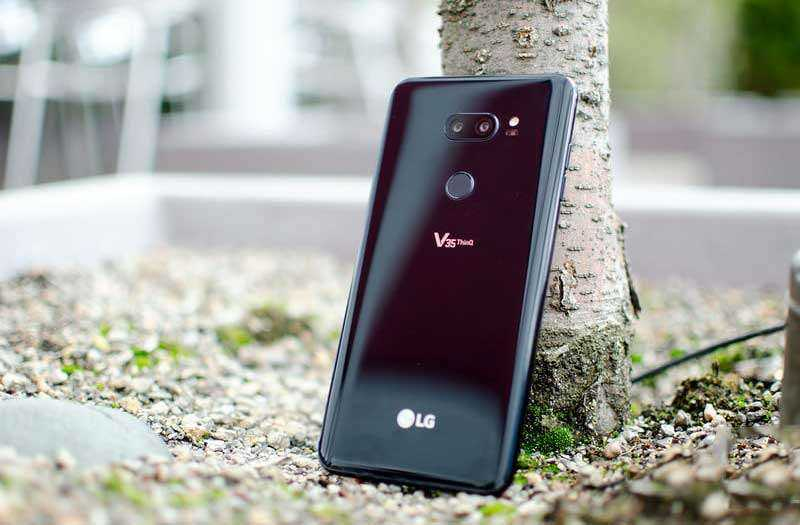Обзор LG V35 ThinQ