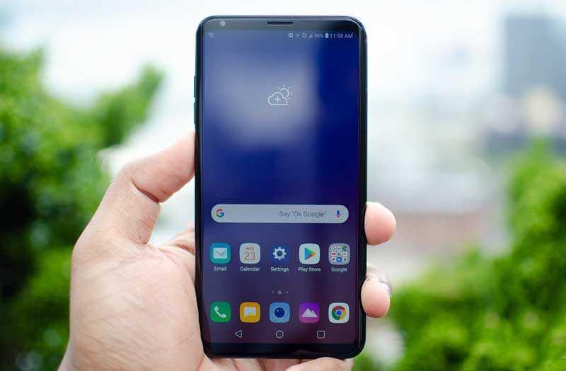 LG V35 ThinQ отзывы