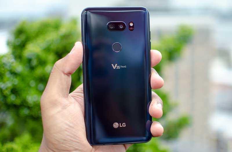 Дизайн LG V35 ThinQ