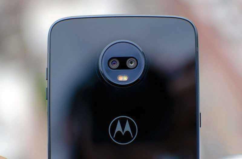 Камеры Moto Z3 Play