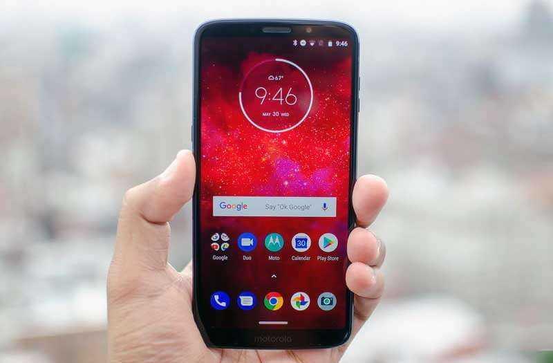Экран Moto Z3 Play