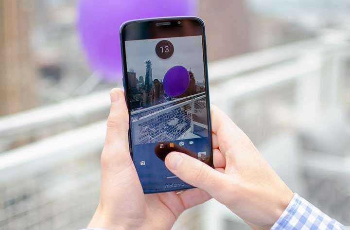 Камера Moto Z3 Play