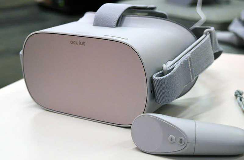 Oculus Go внешний вид