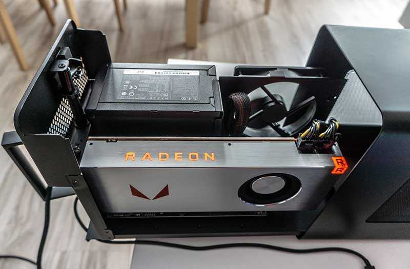 Настройка Razer Core X