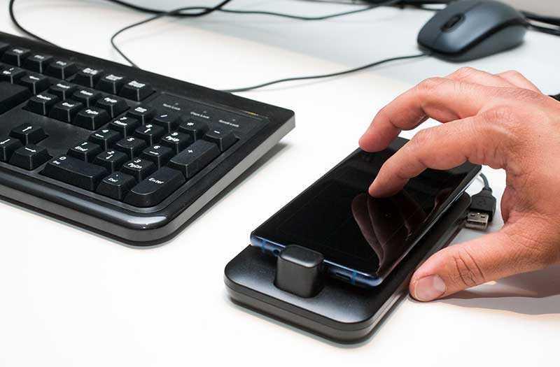 подключение Samsung DeX Pad