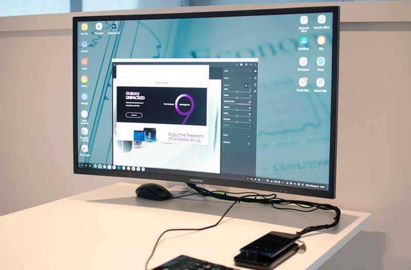 Samsung DeX Pad отзывы