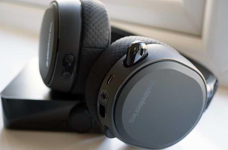 Звук SteelSeries Arctis Pro