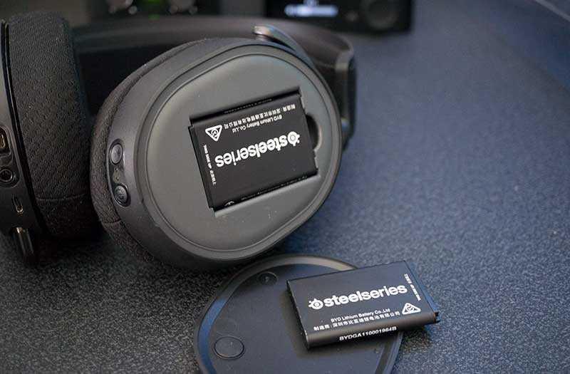 SteelSeries Arctis Pro батарея
