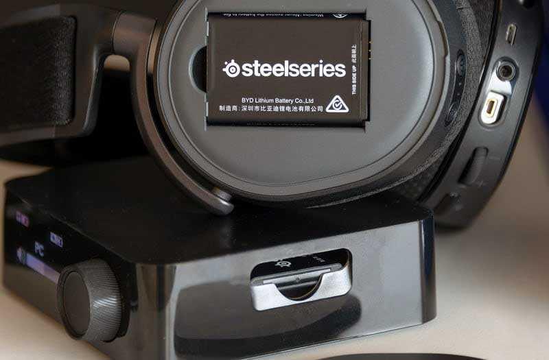 SteelSeries Arctis Pro из коробки