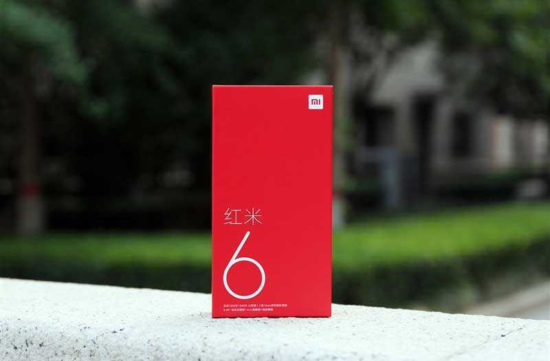 Xiaomi Redmi 6 из коробки