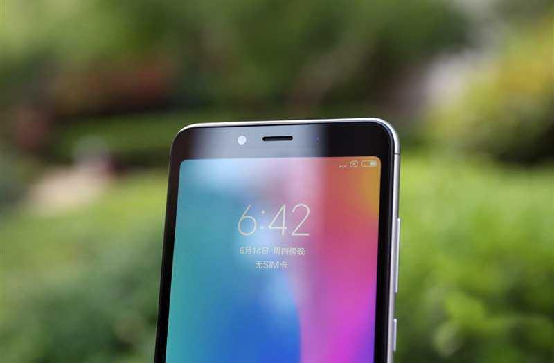 Дизайн Xiaomi Redmi 6