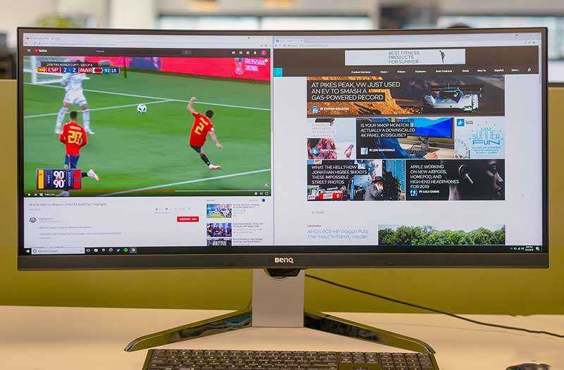 Экран BenQ EX3501R