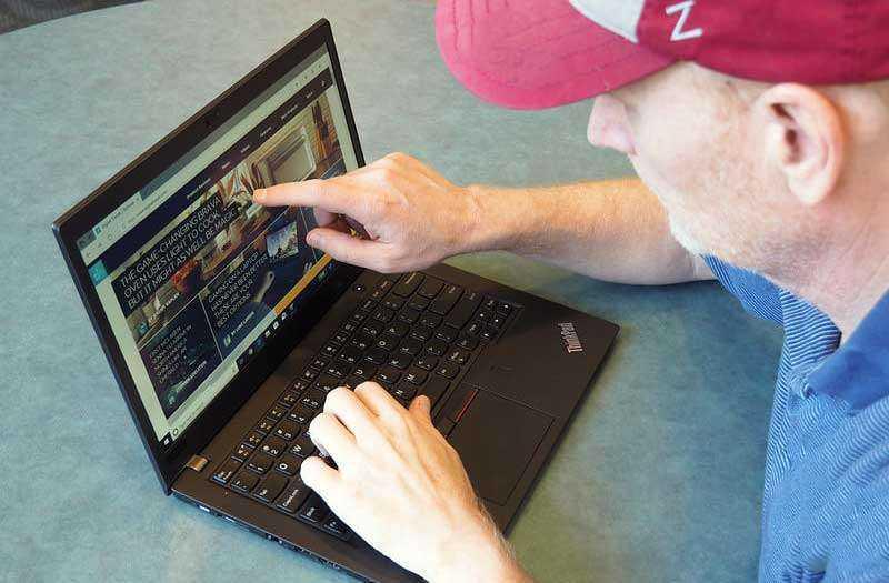 Lenovo ThinkPad T480s конструкция
