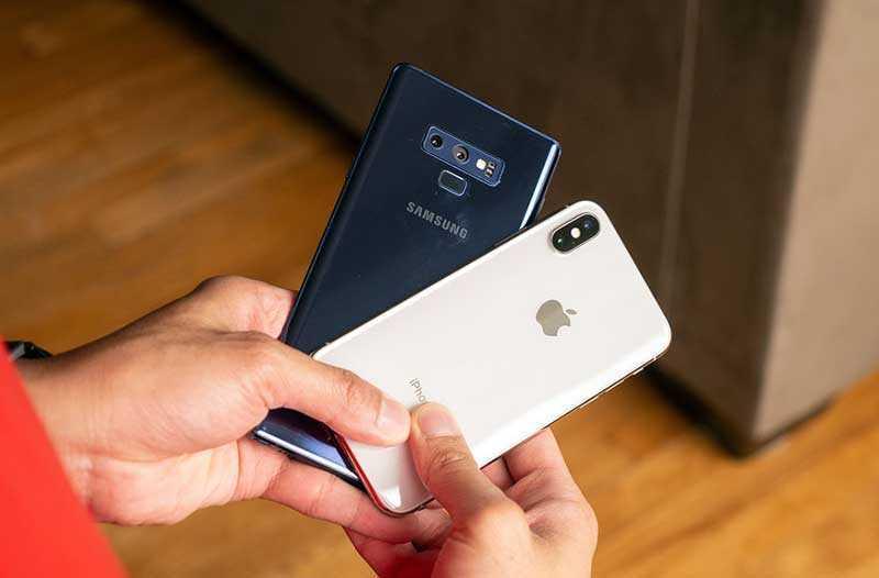 Сравнение камер Samsung Galaxy Note 9 и Apple iPhone X