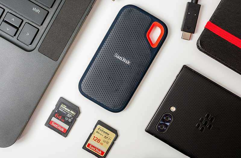 SanDisk Extreme Portable SSD отзывы