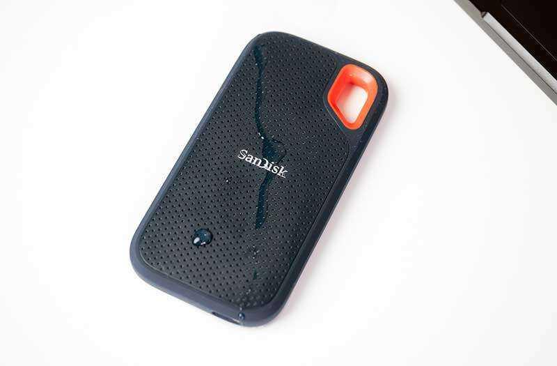 SanDisk Extreme Portable SSD особенности