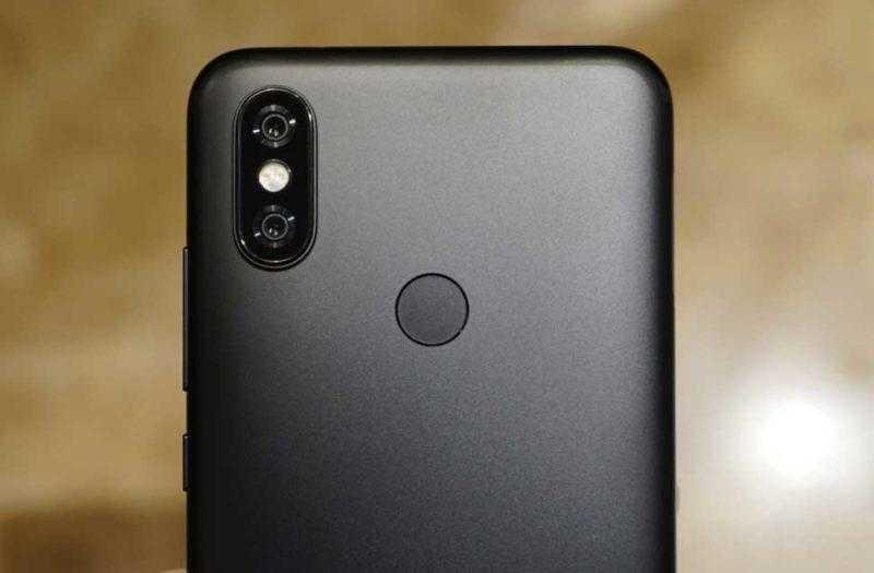 Камера Xiaomi Mi A2