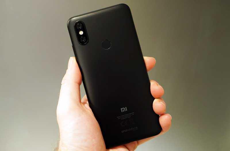 Дизайн Xiaomi Mi A2