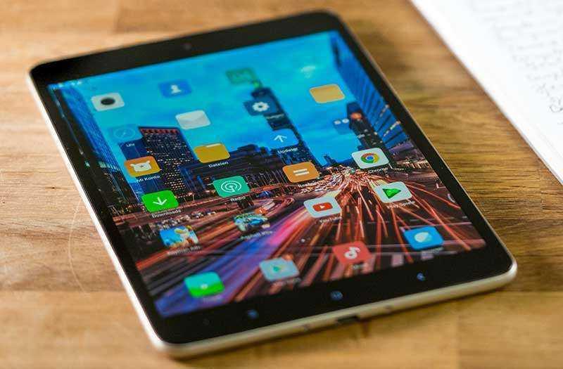 Дизайн Xiaomi Mi Pad 4
