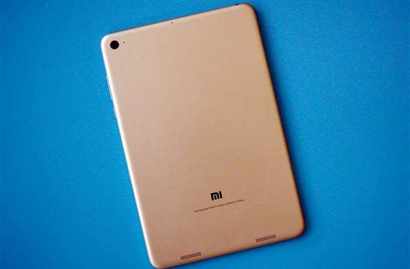 Xiaomi Mi Pad 4 сзади