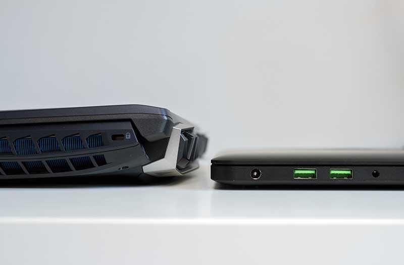 Размер Acer Predator Helios 500