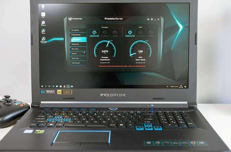 Acer Predator Helios 500 производительность