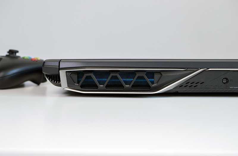 Acer Predator Helios 500 охлаждение