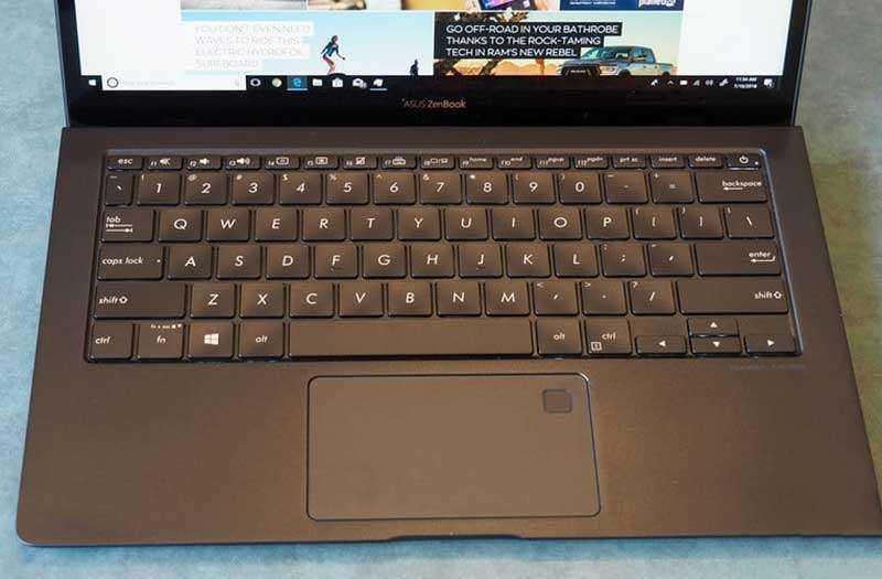 Клавиатура Asus ZenBook S