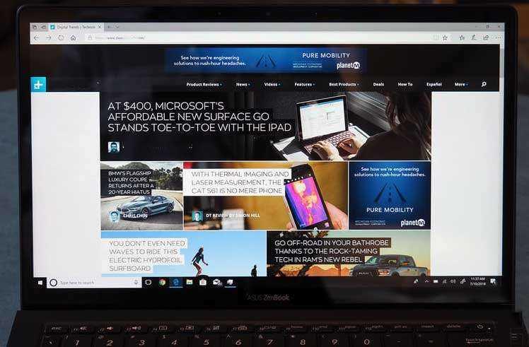 Экран Asus ZenBook S