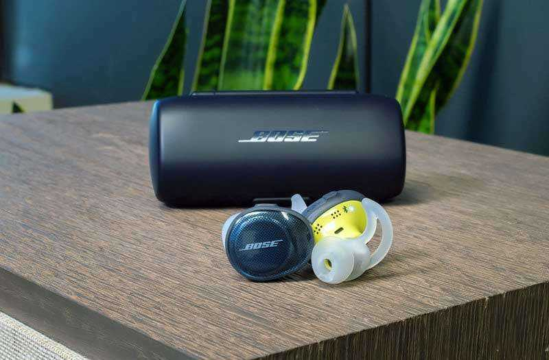 Дизайн Bose SoundSport Free