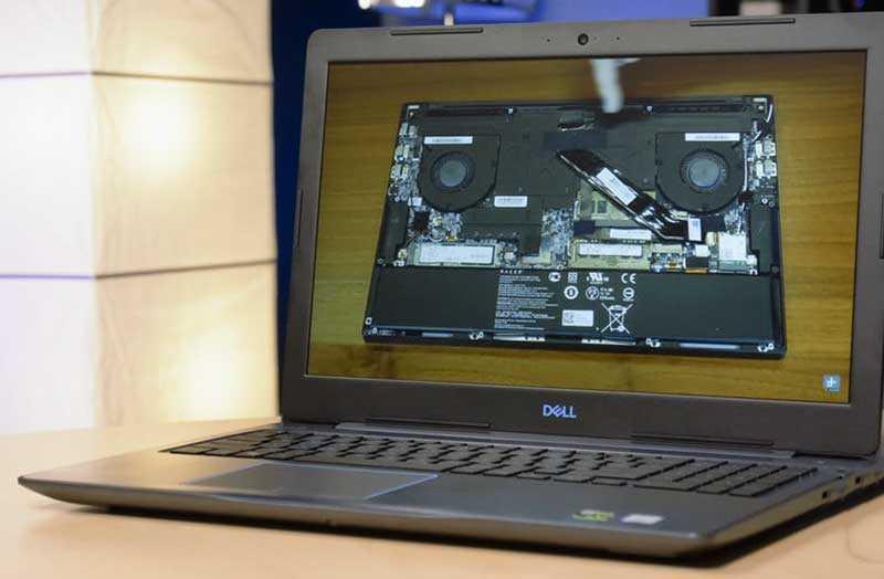 Dell G3 конструкция